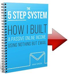 5 step email marketing system