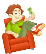 money from couch