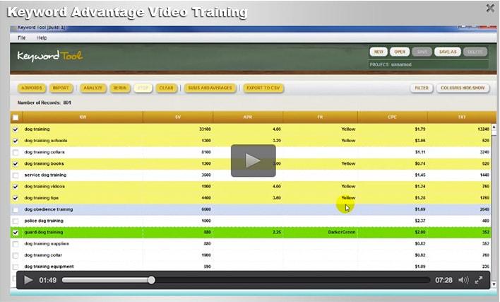 keyword advantage review video
