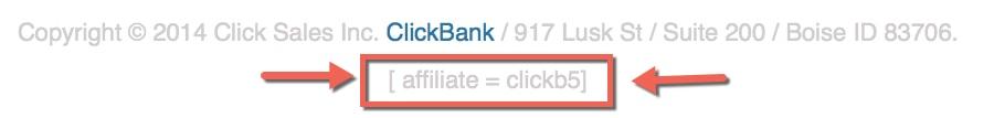 clickbank id
