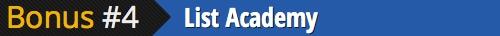 bonus 4 list academy