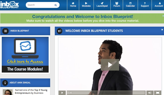 inbox blueprint 2.0 membership
