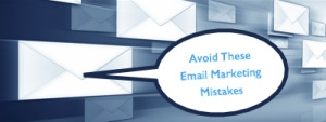 email marketing mistakes