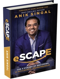 anik's book escape