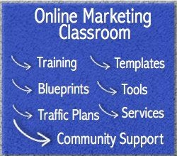 Online Marketing Classroom Online Business  Comparison Chart
