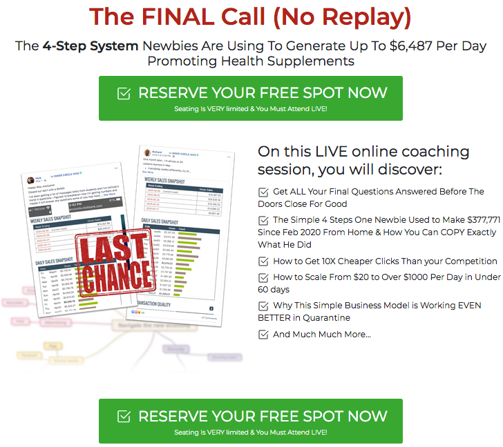 the final call training