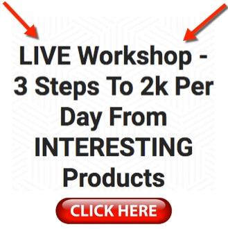 live workshop 3 steps to 2k