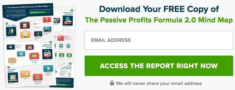 passive profits formula 2.0 mindmap