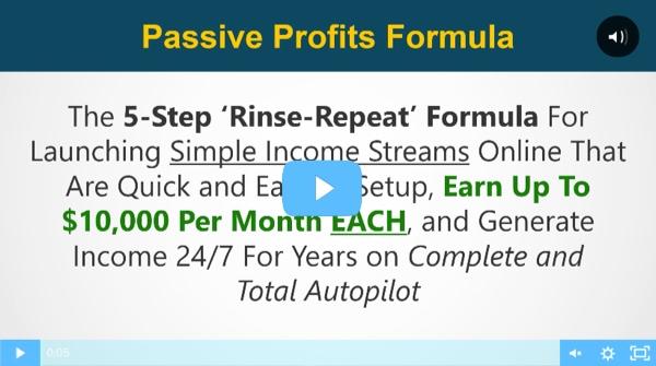 passive profits formula niche profit fast track