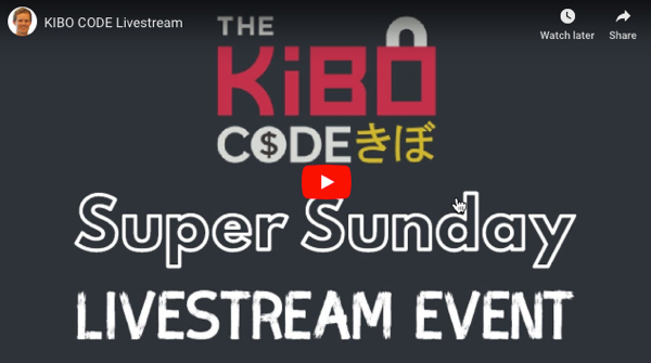 the kibo code live streamcast