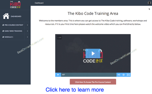 the kibo code sneak peak
