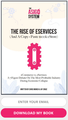 rise of eservices book