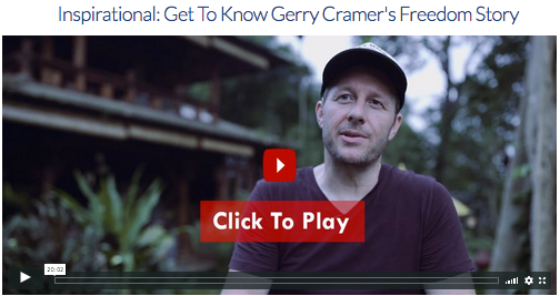 gerry cramers freedom story