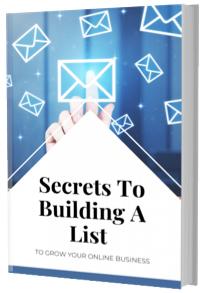 secrets to building a list